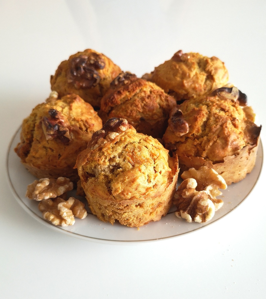 muffins carrot cake