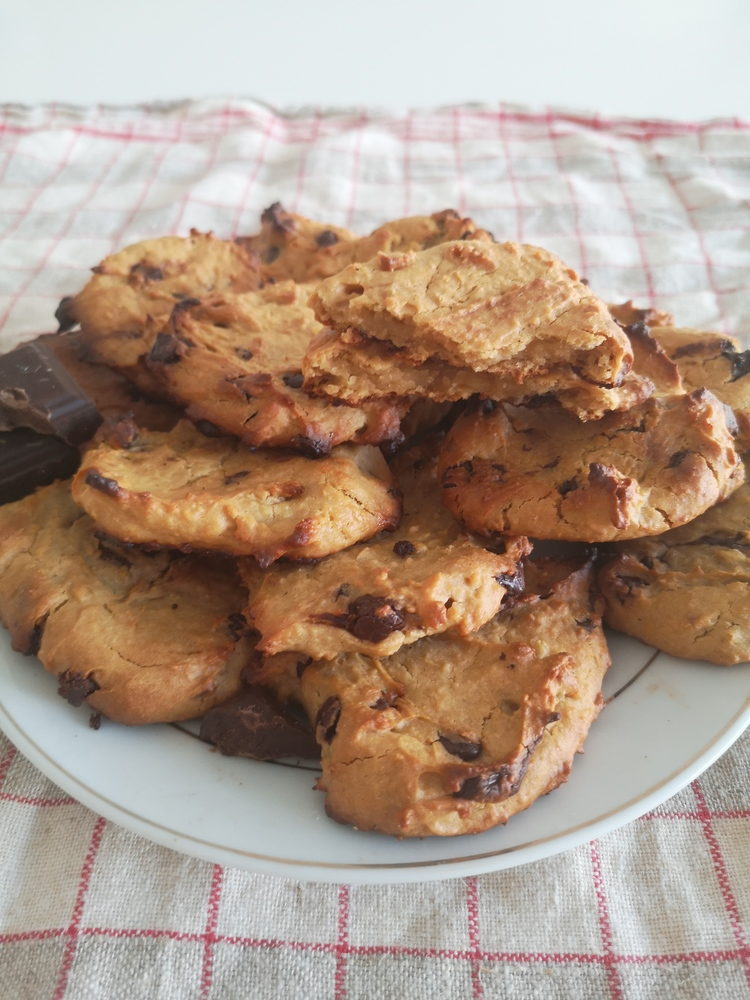 cookies aux pois chiches